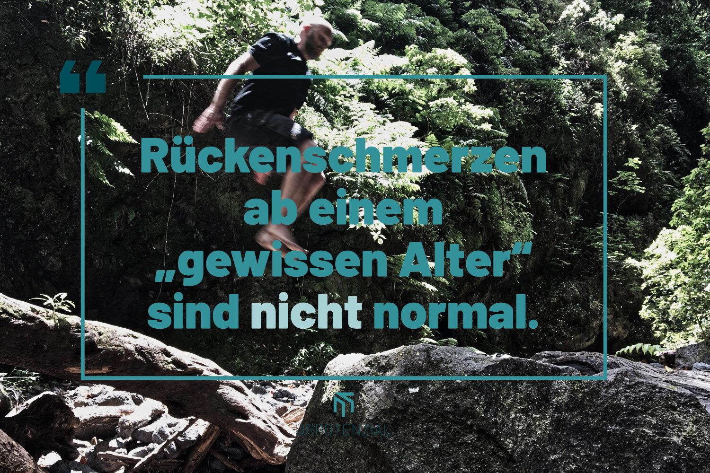 """Featured image for """"Rückenschmerzen sind nicht """"ganz normal""""!"""""""